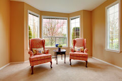 Living room corner. Antique chairs Royalty Free Stock Photography