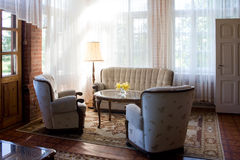 Living room in country house Royalty Free Stock Photography
