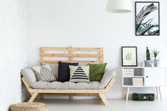 Free Living Room Decor Royalty Free Stock Photography - 97808527