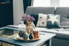 Living Room Decor Stock Images