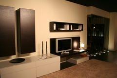 Living room decorating ideas. 5 star hotel apartment - decorating ideas to make your apartment delightful Stock Photos