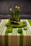 Living Room Decoration. Springtime for living room decoration royalty free stock photos