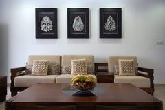 Living room decoration Stock Image