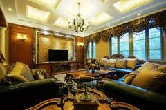 Living room decoration Stock Photos