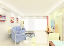 Living Room Design Stock Photography