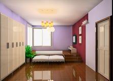 Living room design royalty free illustration