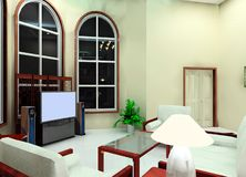 living room design Royalty Free Stock Photography