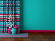 Living room design. Royalty Free Stock Image
