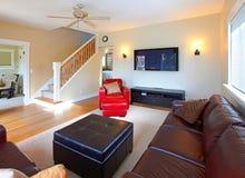 Living room design idea Royalty Free Stock Photography