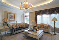 Living room design sample room Royalty Free Stock Photography