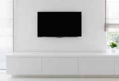 Free Living Room Detail Tv On Wall Stock Image - 42276971