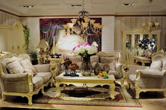 Living room furnishings Royalty Free Stock Photography