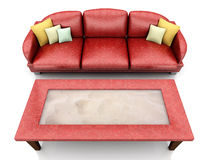 Living room furniture Royalty Free Stock Photo