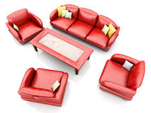 Living room furniture Royalty Free Stock Image