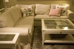 Living room furniture store Royalty Free Stock Photo
