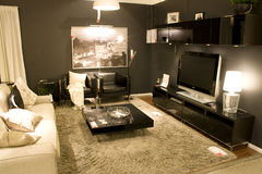 Living room furniture store Stock Image