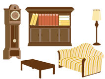 Living Room Furnitures Stock Images