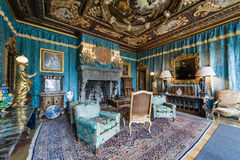 Living room at Hearst Castle Stock Photography
