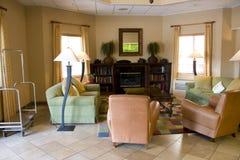 Living room hotel lobby Royalty Free Stock Photo