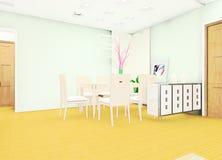 Living room illustration design. A living room illustration design Stock Images