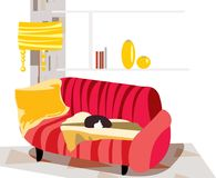 living room Royalty Free Stock Photos