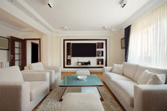 Living room interior Royalty Free Stock Image