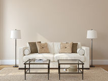 Free Living-room Interior. Royalty Free Stock Photography - 32394397
