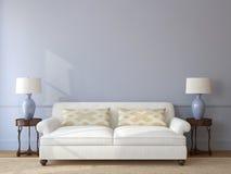 Living-room interior. Royalty Free Stock Photos