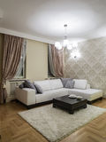 Living room interior. Design and decoration Stock Photography