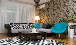 Living room interior design Stock Photography