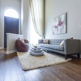 Living room interior design Royalty Free Stock Photo