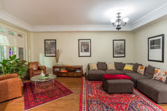 Living Room Interior Design Royalty Free Stock Images