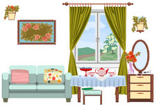 Living room interior Stock Images