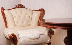 Living room, interior, furniture Royalty Free Stock Photography