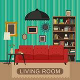 Living room interior. Stock Image
