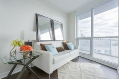 Living Room Interior Royalty Free Stock Photography