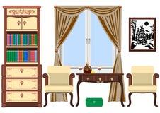 Living room interior Royalty Free Stock Photos