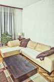 Living room or interior with  modern and stylish design with sof Stock Images