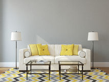 Living-room interior. Royalty Free Stock Photo