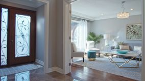 Living Room Interior Dolly Shot Stock Footage Video Of