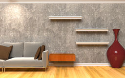 Living Room Interior Royalty Free Stock Images