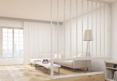 Living room interior sideview Royalty Free Stock Image