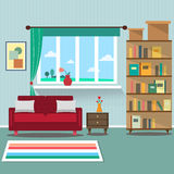 Living room interior. Vector for your ideas Stock Photo