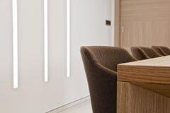 Living room lighting Royalty Free Stock Image