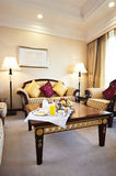 Living room of luxury hotel suite Stock Photo
