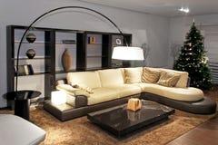 Living room modern Royalty Free Stock Photo