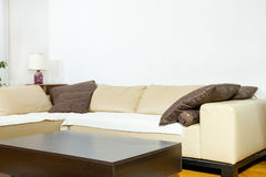 Living room in modern designed style Royalty Free Stock Images