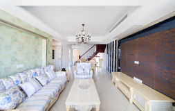 Living-room with the modern furniture Royalty Free Stock Images