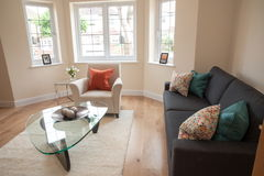 Living room in new home Royalty Free Stock Image