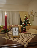 Living room on new years eve Royalty Free Stock Photography